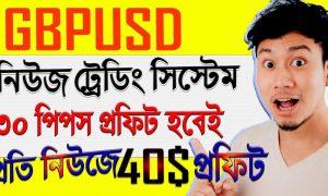 GBPUSD News Trading Strategy Forex Bangla