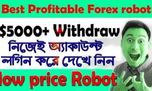 Profitable Forex robot | Forex Robot Trading Software | $5000+ Withdraw Live Accoun